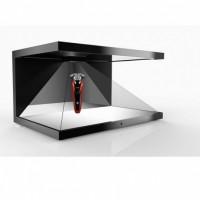 全息幻像玻璃 侧悬浮全息空气成像270度 3D全息展柜