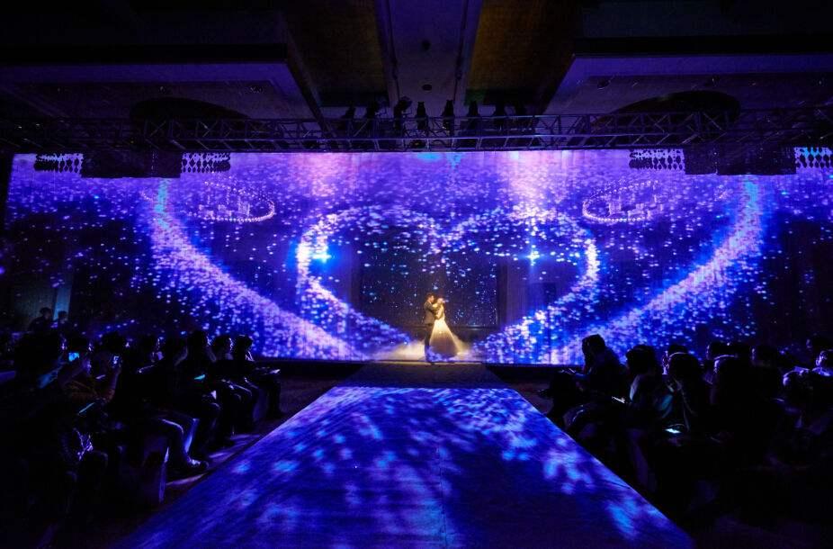 深圳4D全息宴会厅-3D全息投影-3D全息婚宴 沉浸式体验厅