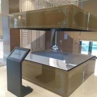 深圳360全息展柜专用全息投影膜,全息投影幕